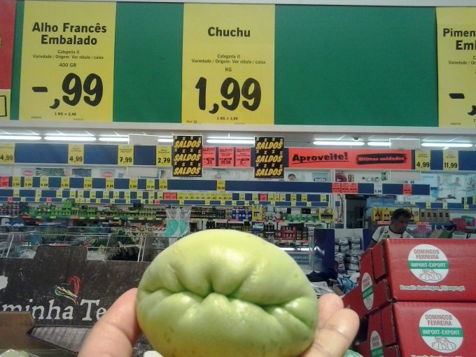 I must eat this chu-chu before it eats me.