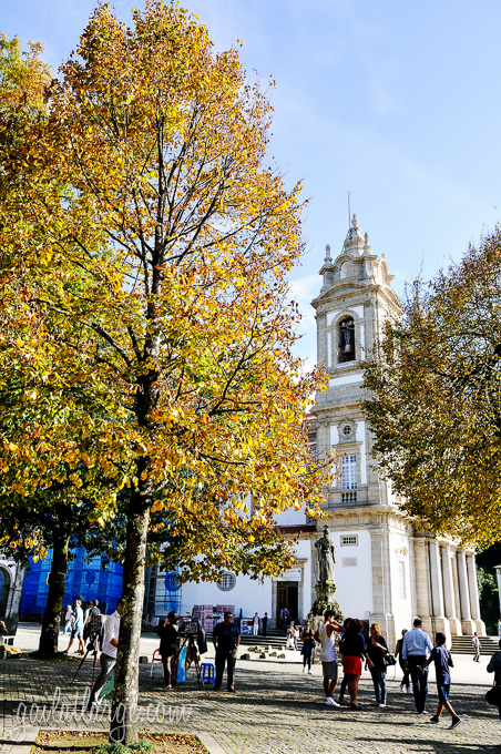 autumn on Bom Jesus do Monte (Braga, Portugal) (1)