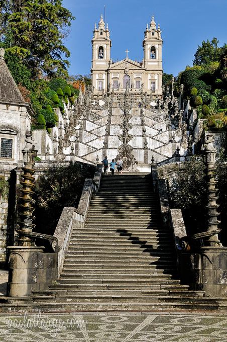 Bom Jesus do Monte outside of Braga (Tenões, Portugal)