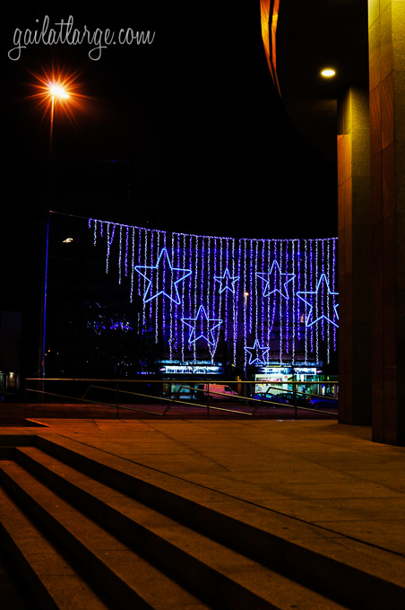 Christmas lights in Maia, Portugal (2)