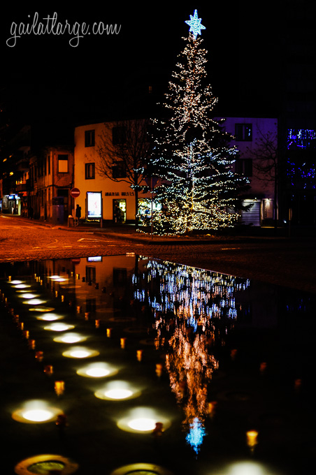 Christmas lights in Maia, Portugal (3)