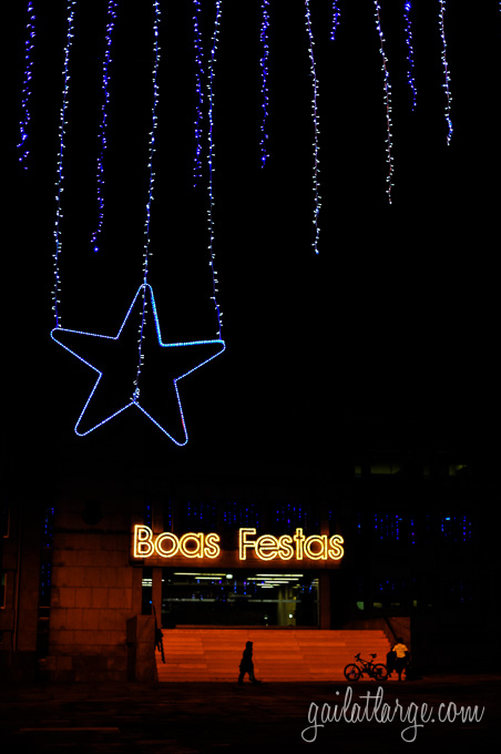 Christmas lights in Maia, Portugal (7)