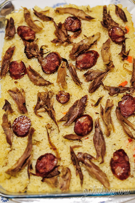 arroz de pato (duck rice)