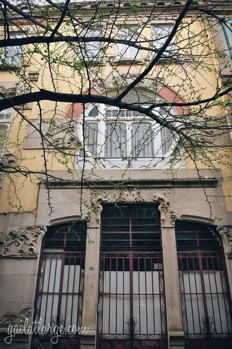 Art Nouveau-style house, Rua da Galeria de Paris (Porto)