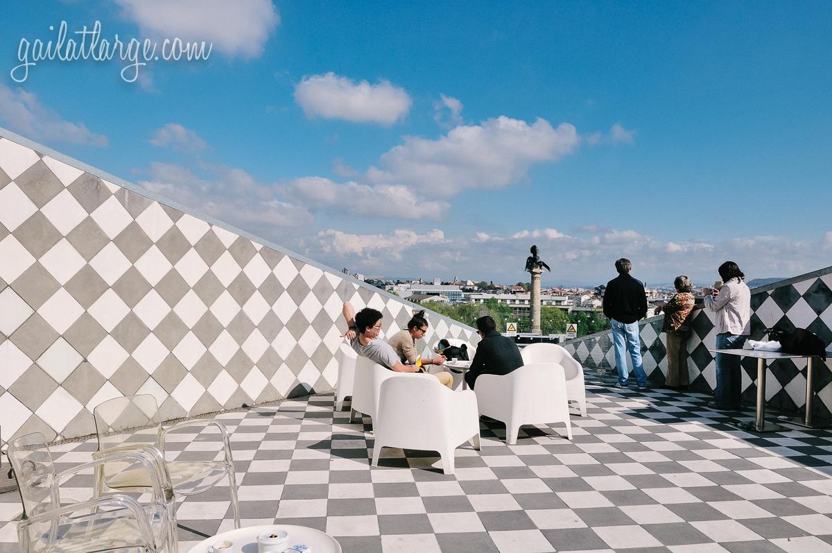 A New View In Porto Casa Da M 250 Sica S Roof Terrace Gail