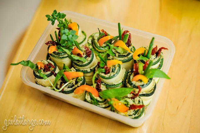 Zucchini Rolls, by Cruioso