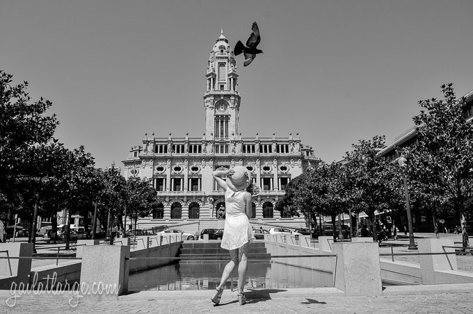City Hall, Porto | model: Jessica Mezey