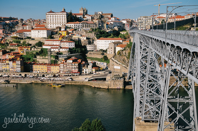 Porto and Luís I Bridge