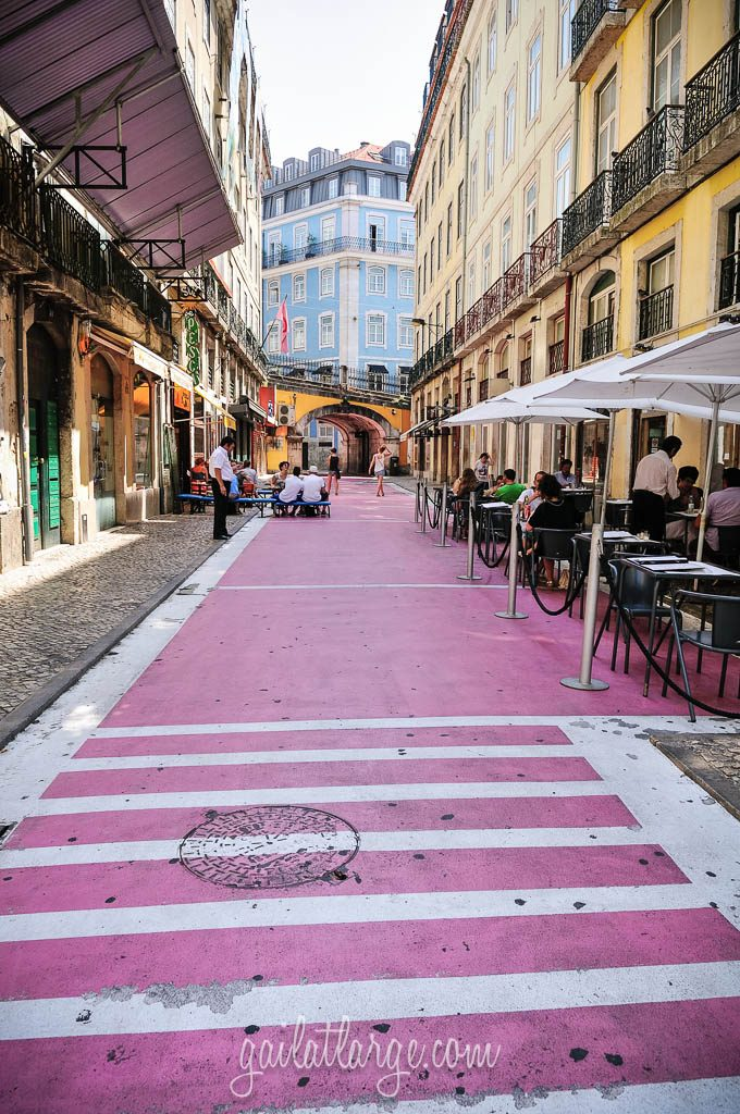 Lisbon S Rua Nova Do Carvalho From Red Light District To
