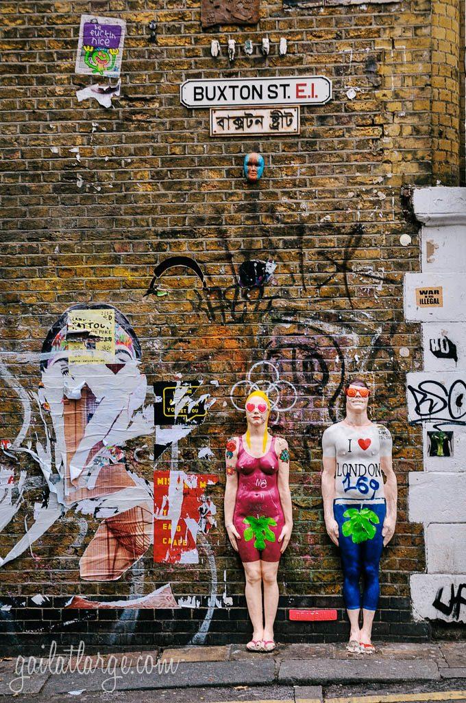 Shoreditch Street Art: Street Art In Shoreditch, London